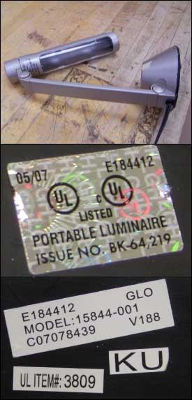 Ul Warns Of Potentially Hazardous Fluorescent Portable