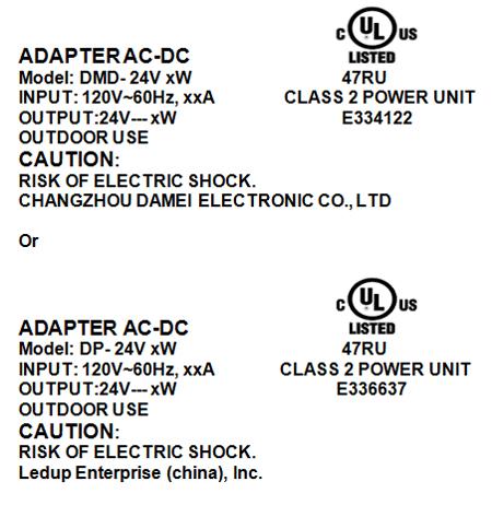 Ul Warns Of Class 2 Power Units Bearing Unauthorized Ul