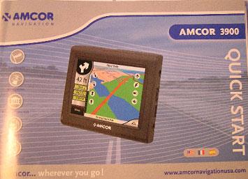 Photo of the offending GPS Navigation System, Model: AMCOR 3900